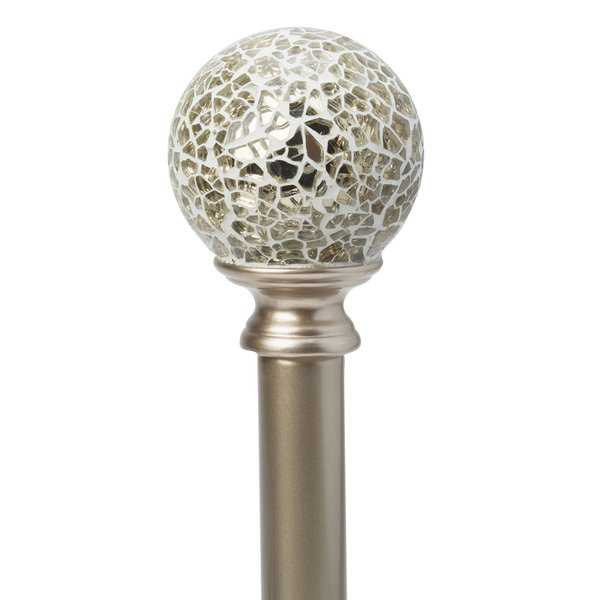 Home Details Champage Palermo 48-86' Adjustable Curtain Rod