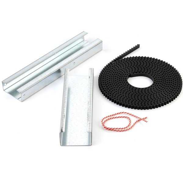 Genie Garage Door Opener C-Channel Belt Extension Kit for 8 Foot High Doors