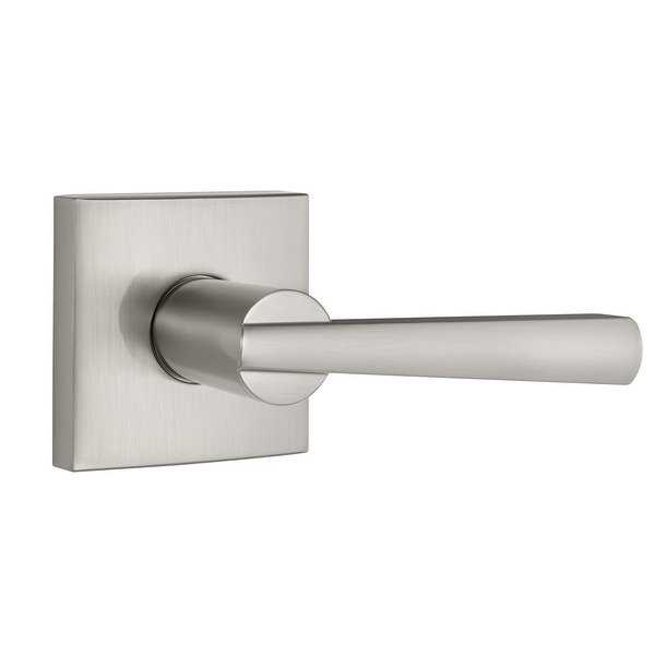 Baldwin 352SPL-SQR Spyglass Passage Door Lever Set from the Prestige Collection - N/A