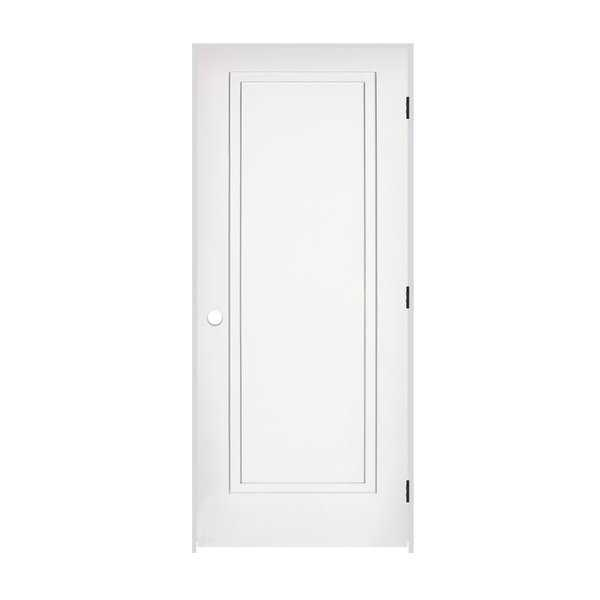 Trimlite 2468138-8491LH10B714 28' by 80' 2-Step Shaker 1-Panel Left Handed Inter - Primed - N/A