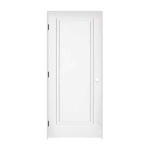 Trimlite 2668138-8491RH1D714 30' by 80' 2-Step Shaker 1-Panel Right Handed Inter - Primed - N/A